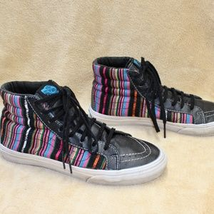 Vans Off The Wall High Tops Stripes MEN OR WOMEN